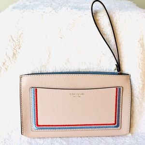 Kate Spade Wallet Clutch Eva Embroidered New 2019